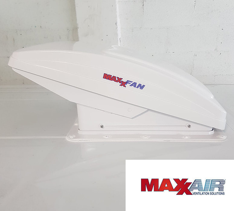 MaxxAir product and logo
